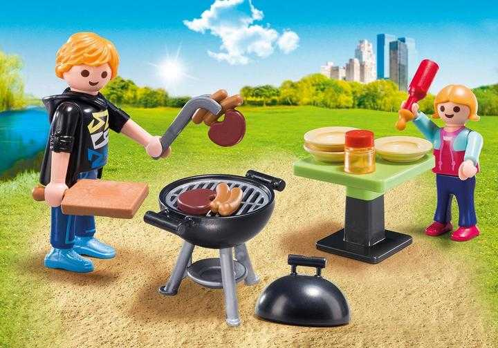 PLAYMOBIL Koffertje Barbecue (5649)