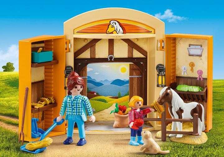PLAYMOBIL Play Box Horses (5660)