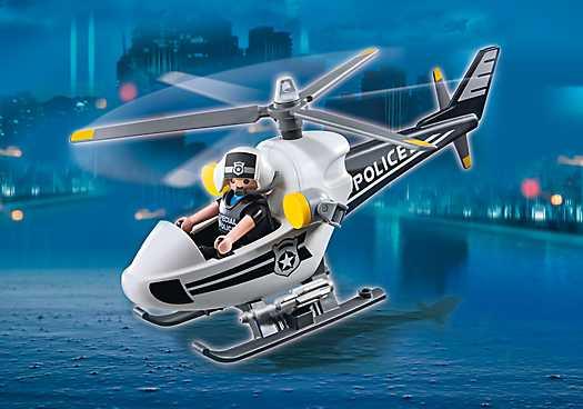 PLAYMOBIL Politie helikopter (5916)