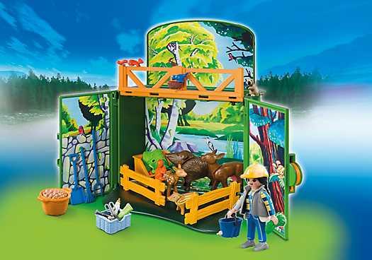 """PLAYMOBIL Speelbox """"Leven in het bos"""" (6158)"""
