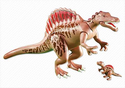 PLAYMOBIL Spinosaurus met baby (6267)