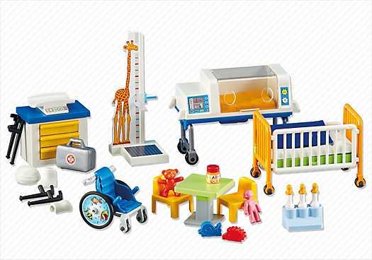 PLAYMOBIL Inrichting voor het kinderziekenhuis (6295)