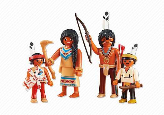 PLAYMOBIL Indianenfamilie (6322)