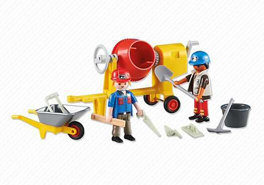 PLAYMOBIL 2 Construction Workers (6339)