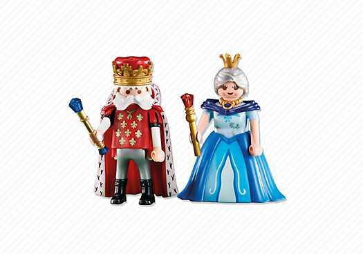 PLAYMOBIL Koning en Koningin (6378)