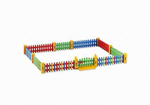 PLAYMOBIL Zaunerweiterung für die KiTa (6387)