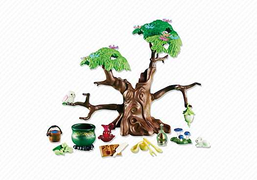 Wonderbaarlijk PLAYMOBIL Magische boom met toebehoren (6397) - Playmowatch België EN-07