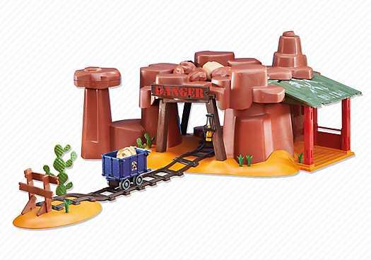PLAYMOBIL Western goudmijn (6428)