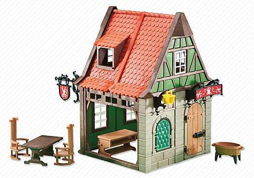 PLAYMOBIL Middeleeuwse kleermakerij (6463)