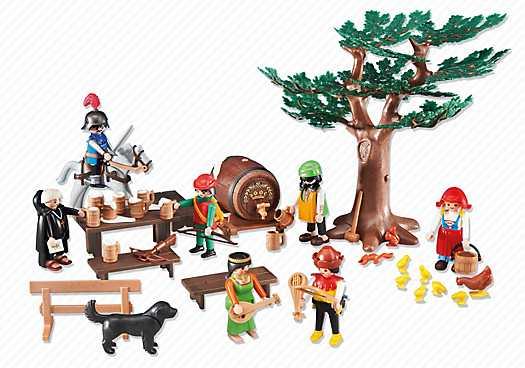 PLAYMOBIL Middeleeuwse vrijbuiters (6464)