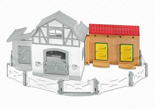 PLAYMOBIL Extra stallen voor het Ponypark (6474)