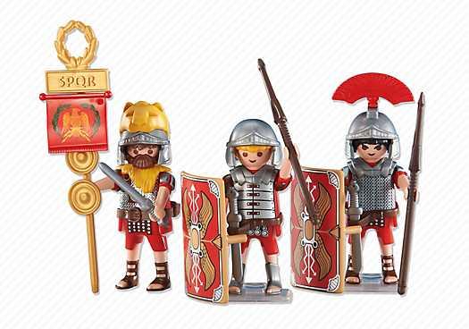 PLAYMOBIL 3 Romeinse soldaten (6490)