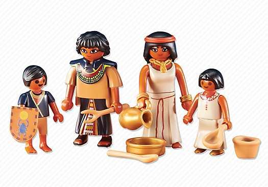 PLAYMOBIL Egyptische familie (6492)