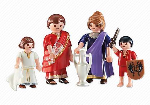PLAYMOBIL Romeinse familie (6493)
