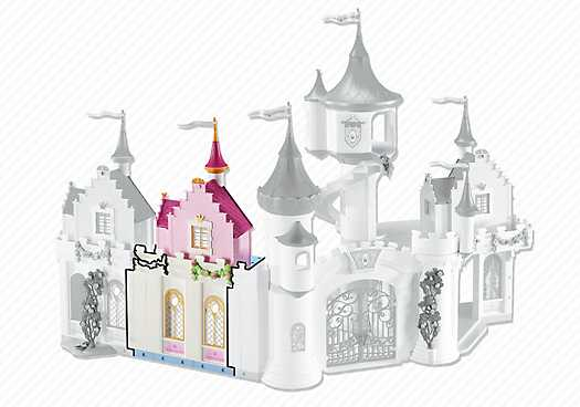 PLAYMOBIL Princess Castle Extension B (6519)