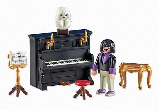 PLAYMOBIL Pianist mit Klavier (6527)