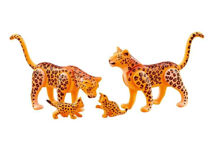 PLAYMOBIL Familie luipaarden (6539)