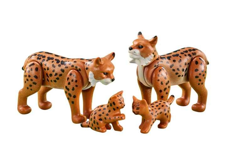 PLAYMOBIL Familie lynxen (6540)