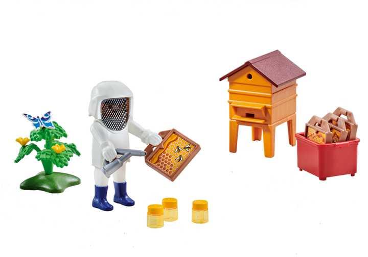 PLAYMOBIL Imker mit Bienenstock (6573)