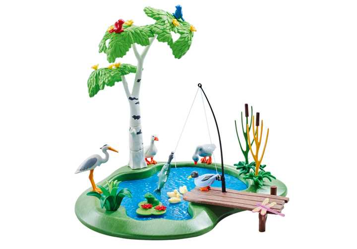 PLAYMOBIL Angelteich (6574)