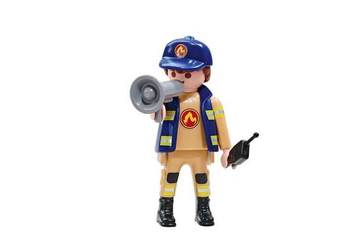 PLAYMOBIL Feuerwehrkommandant A (6583)