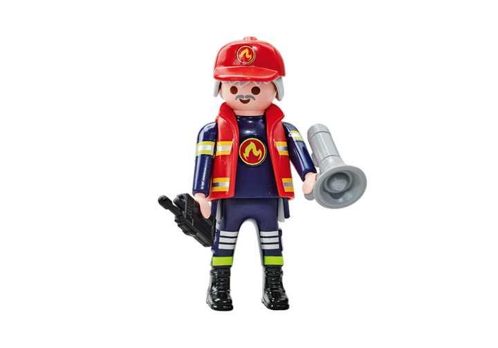 PLAYMOBIL Feuerwehrkommandant B (6585)