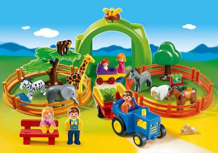 PLAYMOBIL Grote zoo (6754)
