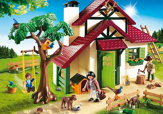 Playmobil Forest Ranger S House 6811 Now 27 99 At