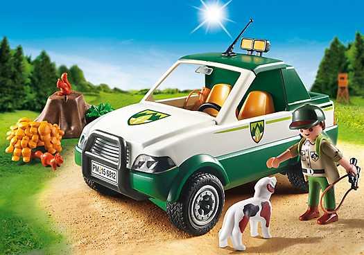 PLAYMOBIL Terreinwagen met boswachter (6812)