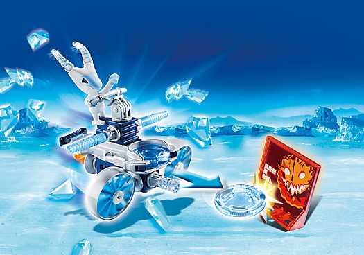 PLAYMOBIL Frosty met Disc-Shooter (6832)