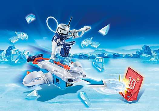 PLAYMOBIL Icebot met Disc-Shooter (6833)