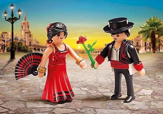 PLAYMOBIL Duo Pack Flamencotänzer (6845)