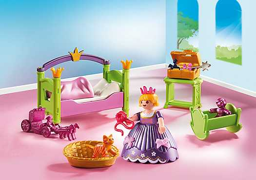 PLAYMOBIL Slaapkamer van de prinses (6852)