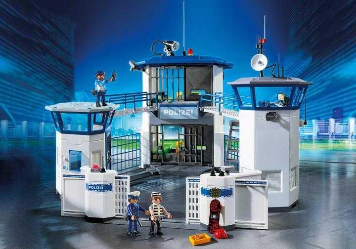 PLAYMOBIL Polizei-Kommandozentrale mit Gefängnis (6872)