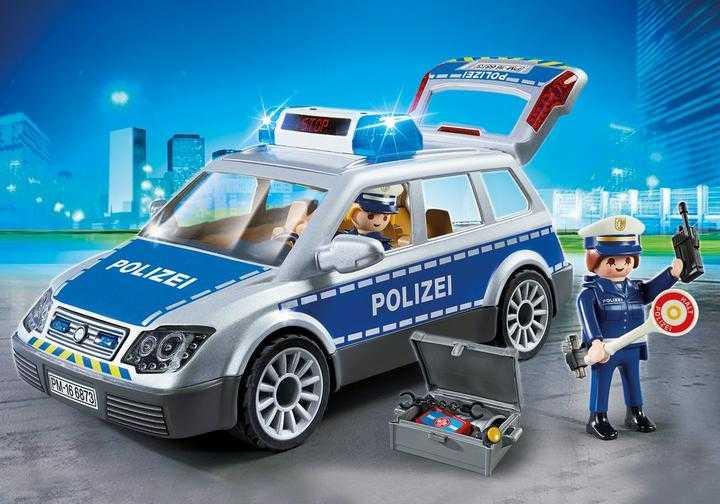PLAYMOBIL Politiewagen (6873)