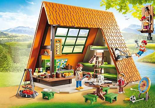 PLAYMOBIL Großes Feriencamp (6887)