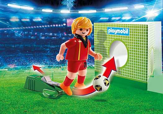 PLAYMOBIL Voetbalspeler België (6897)
