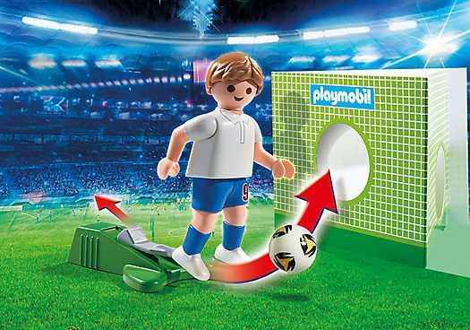 PLAYMOBIL Voetbalspeler Engeland (6898)