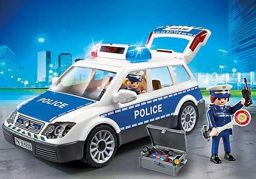 PLAYMOBIL Politiepatrouille met licht en geluid (6920)