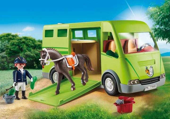 PLAYMOBIL Pferdetransporter (6928)