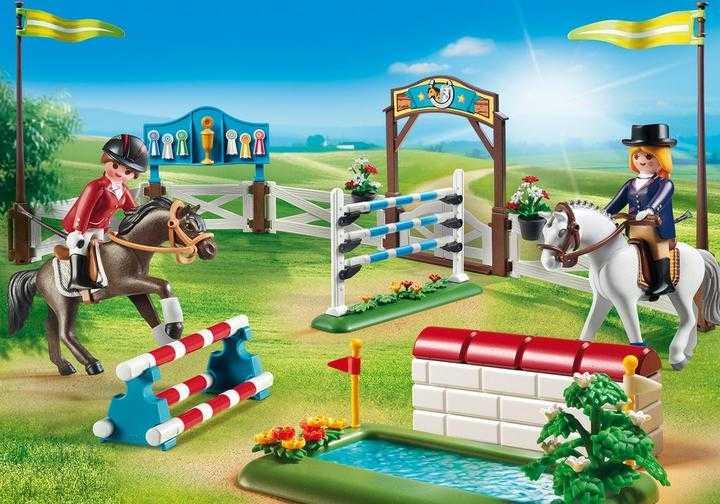 PLAYMOBIL Paardenwedstrijd (6930)