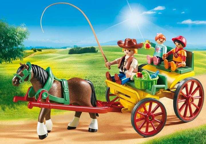 PLAYMOBIL Pferdekutsche (6932)