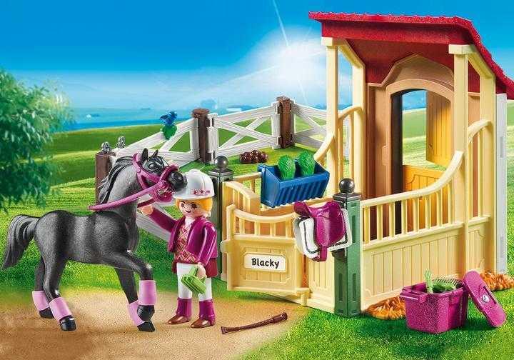 PLAYMOBIL Arabier met paardenbox (6934)
