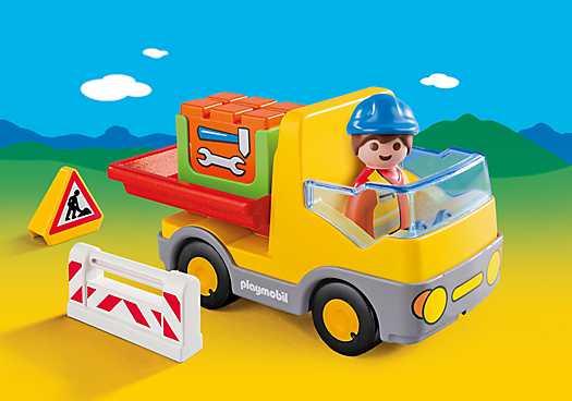 PLAYMOBIL Vrachtwagen met laadklep (6960)
