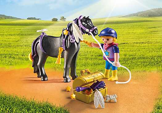 PLAYMOBIL Pony om te versieren Ster (6970)