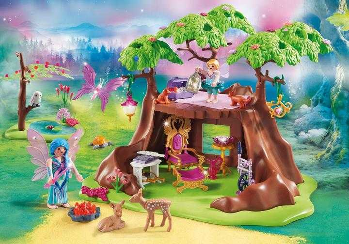 PLAYMOBIL Fairy Forest House (70001)