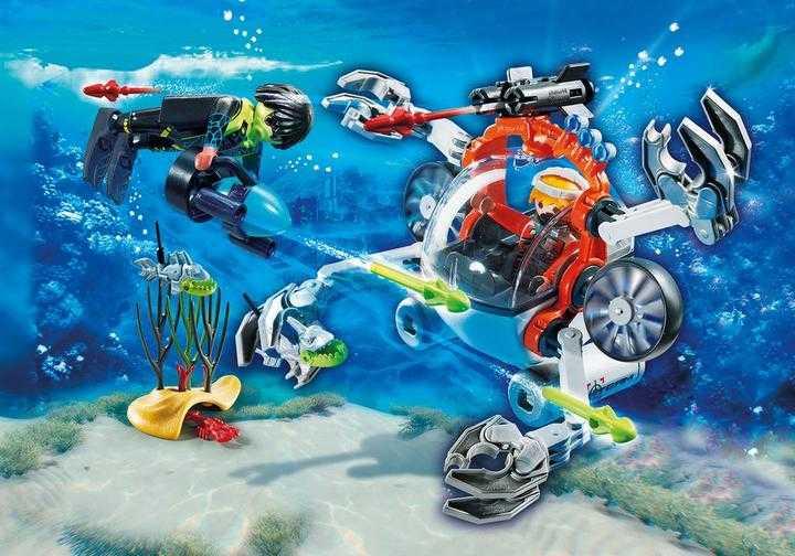 PLAYMOBIL Spy Team Bemande onderwaterrobot (70003)
