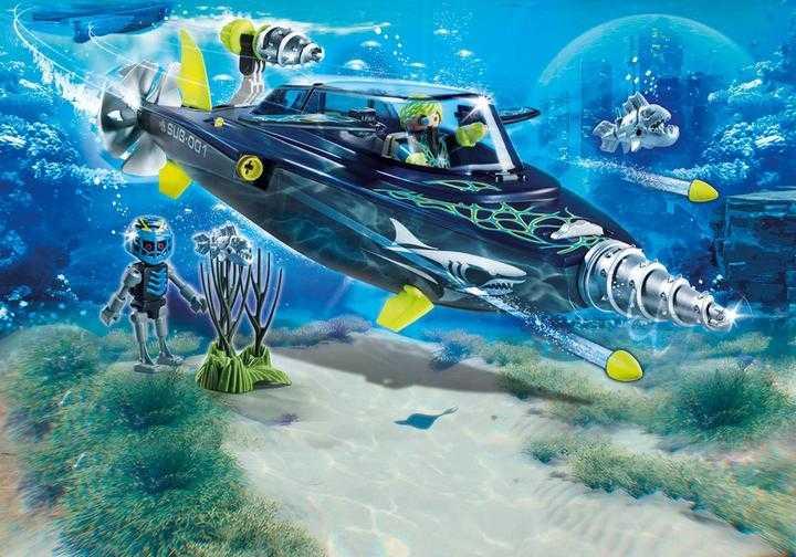 PLAYMOBIL Team S.H.A.R.K. Drilonderzeeër (70005)