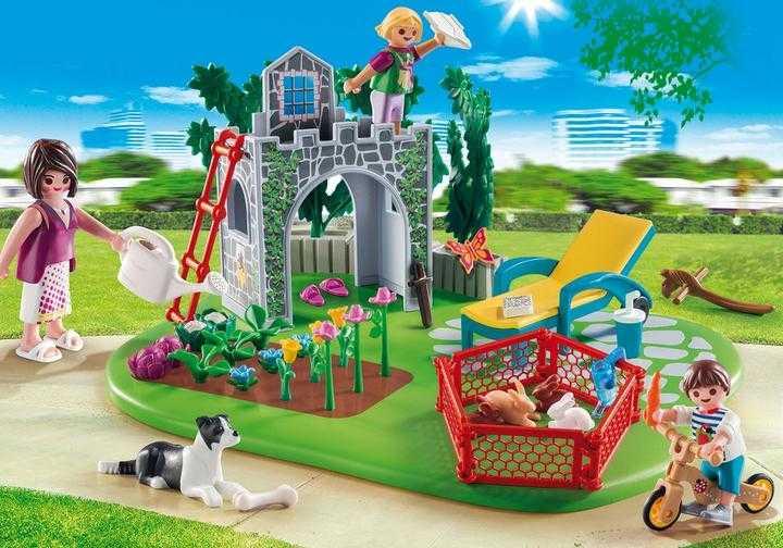 PLAYMOBIL SuperSet Familiengarten (70010)