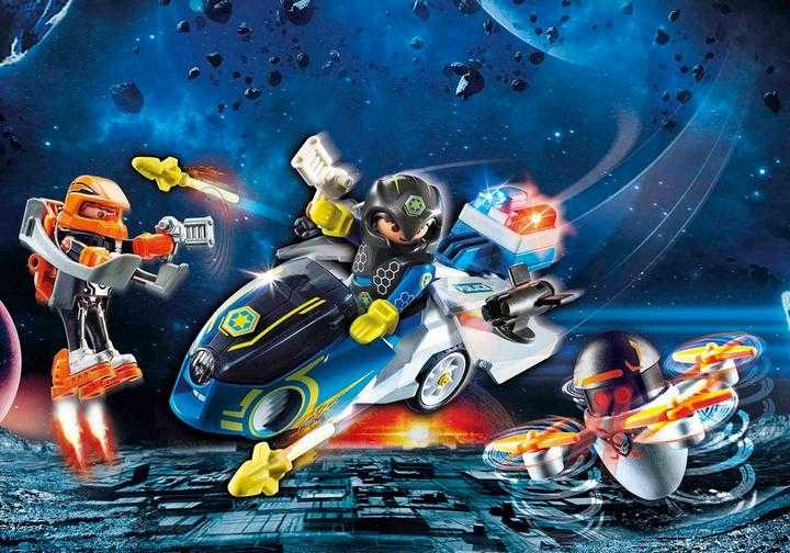 PLAYMOBIL Galaxy politiemotorfiets (70020)
